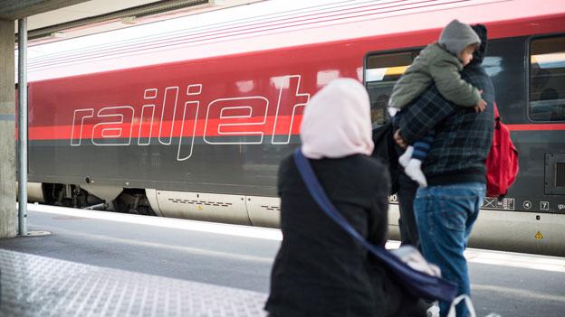 Mehr Flüchtlinge erreichen die Schweiz via Deutschland