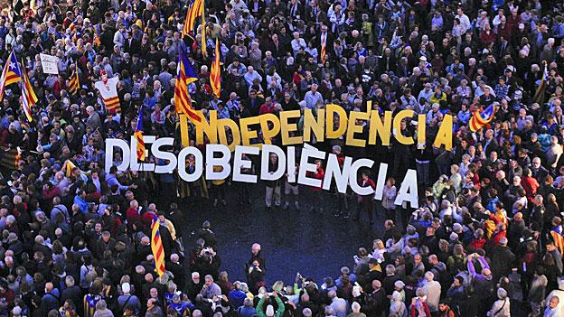 Spanien behindert die katalanischen Unabhängigkeitspläne