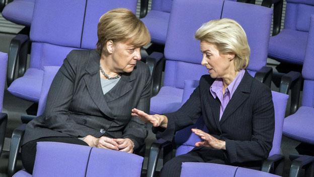 Deutschland beschliesst Militäreinsatz in Syrien