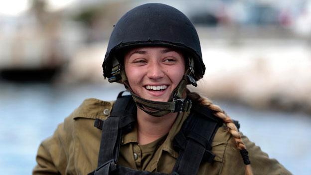 Armee-Frauen auf dem Vormarsch