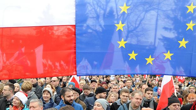 Erneute Demonstrationen in Polen