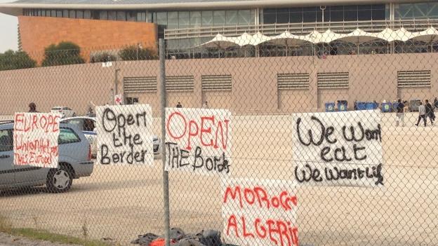 Wirtschaftsflüchtlinge bleiben in Griechenland hängen