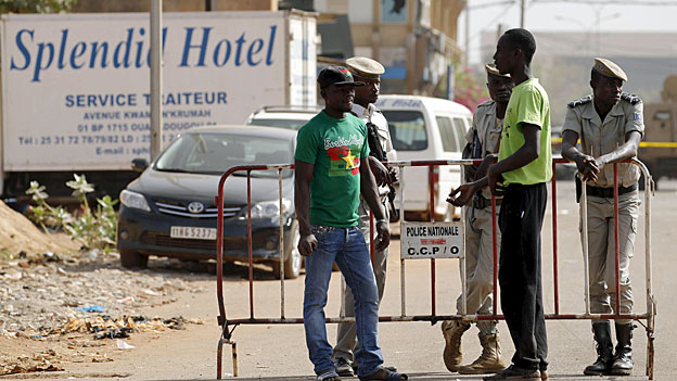 Festhalten an Hilfsprojekten in Burkina Faso