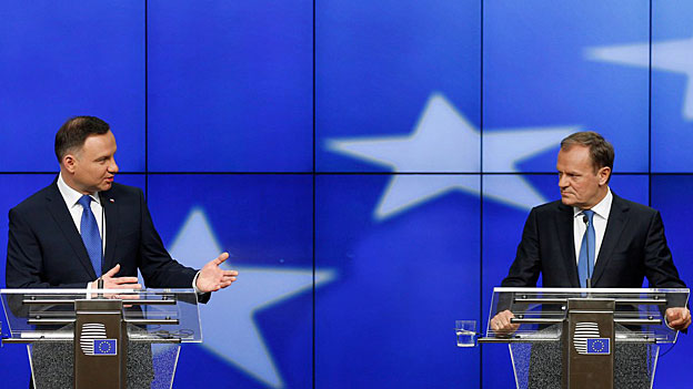 Donald Tusk warnt vor hysterischer Polen-Debatte