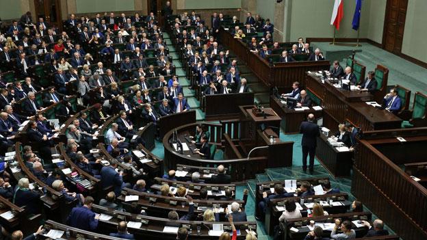 Polen ritzt die Gewaltentrennung