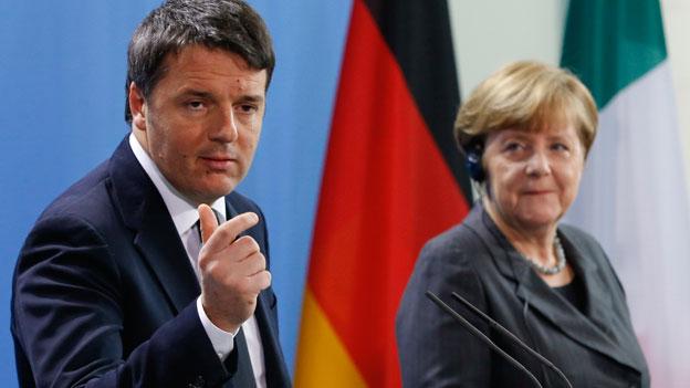 Unterkühlte deutsch-italienische Beziehungen
