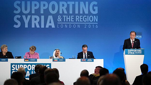 «Supporting Syria» - wer bezahlt für Unbezahlbares?