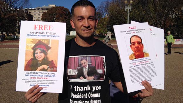 Obama schenkt Insassen den Neuanfang