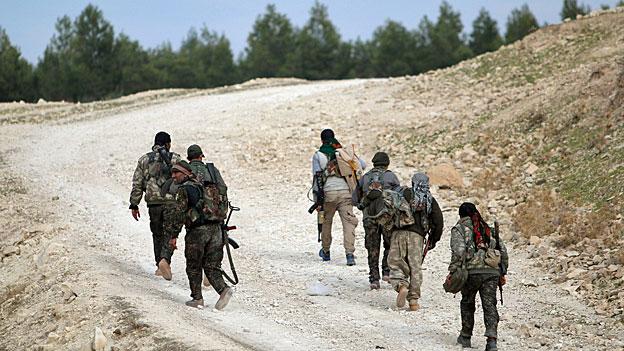 Die Rolle der Kurden im Syrienkrieg