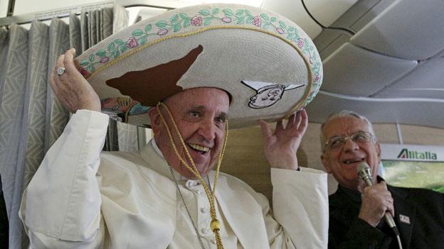 Päpstliche Reiseroute ist ein Fingerzeig an die Mafia