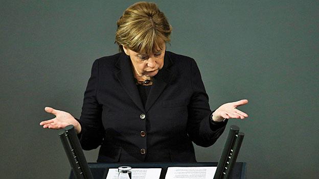 Angela Merkel kämpft allein für europäische Flüchtlingspolitik