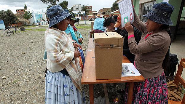 Das bolivianische Volk sagt Nein zu Verfassungsänderung