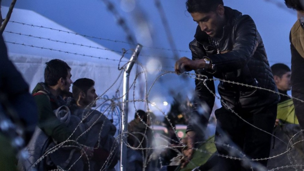 Flüchtlingskrise in Griechenland verschärft sich