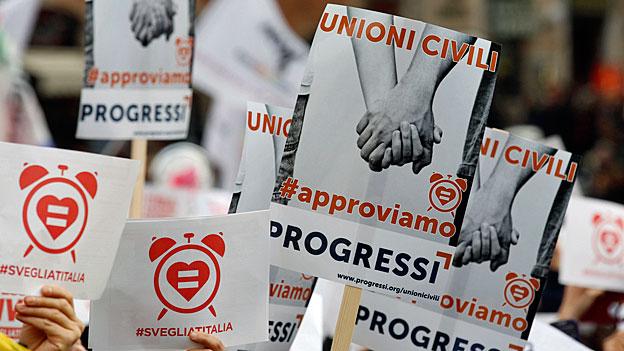 Gleichgeschlechtliche Partnerschaft im katholischen Italien