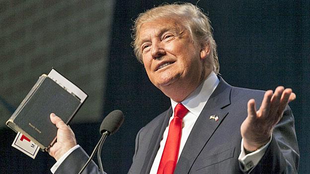 «Super Tuesday» – Donald Trump und die Bibel