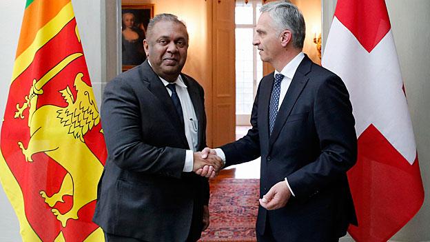 Sri Lanka und die Schweiz wollen Rückübernahme-Abkommen