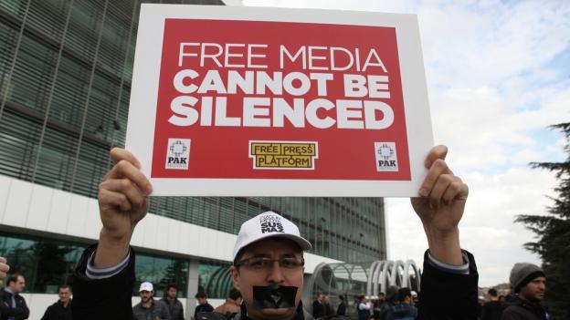 Pressefreiheit in der Türkei weiter unter Druck