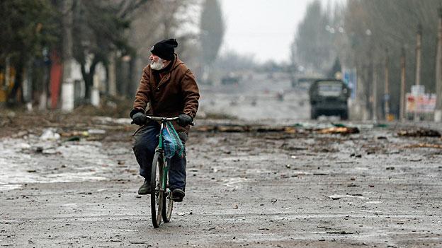 Ukraine – Rentenstopp in den Rebellengebieten