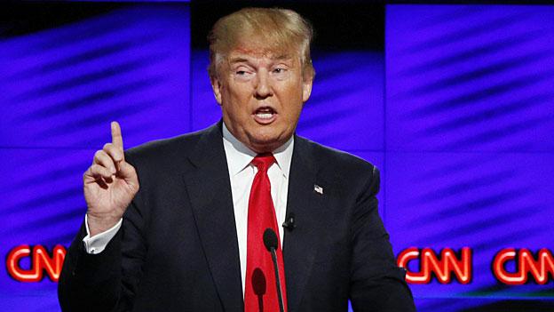 Die Medien und Donald Trump