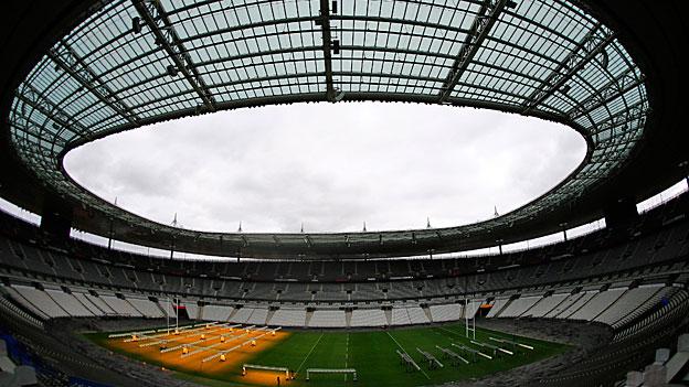 Fussball-EM: Sicherheitstest im Stade de France