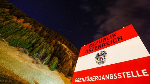 Bauarbeiten für etwaige Kontrollen am Brenner