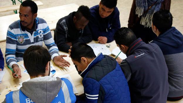 Notfallszenarien trotz Rückgang von Asylgesuchen