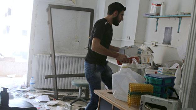 MSF: «In Syrien wird gezielt gegen uns vorgegangen.»