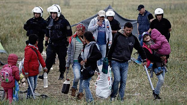 Idomeni – die Räumung eines Flüchtlingscamps