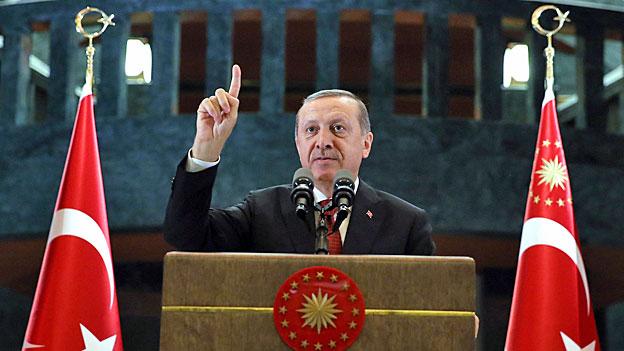 Verblüffende Wandlung des türkischen Präsidenten