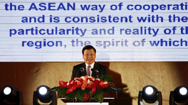Wenig Druck auf China am Asean-Gipfel