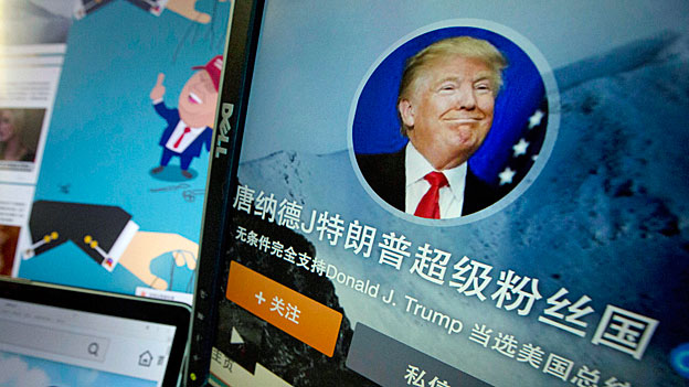Donald Trumps Nonchalance kommt in China gut an