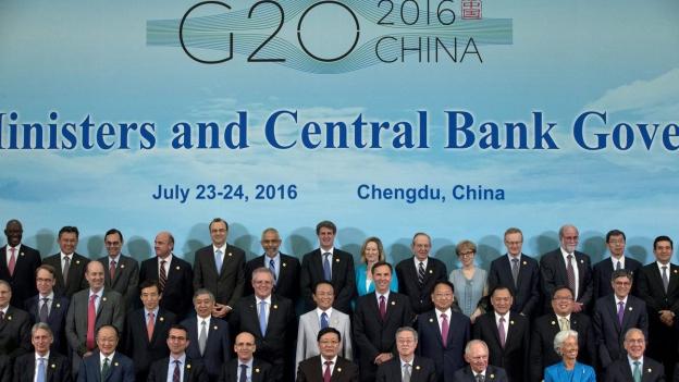 Gelassene G20-Finanzminister