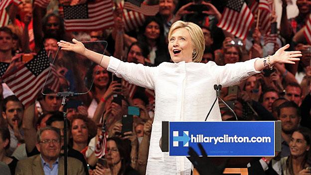 Hillary Clinton – die Wahlkampfstrategie