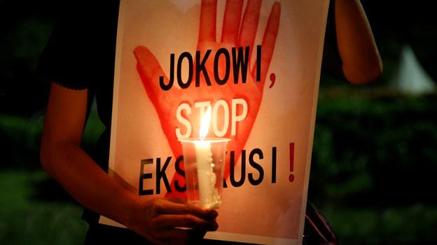 Keine Gnade für Drogenhändler in Indonesien