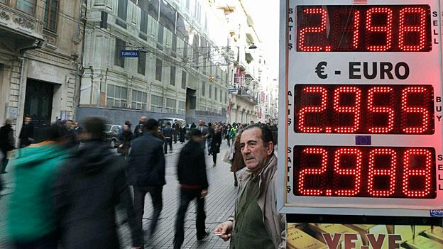 Verunsicherung in der türkischen Wirtschaft
