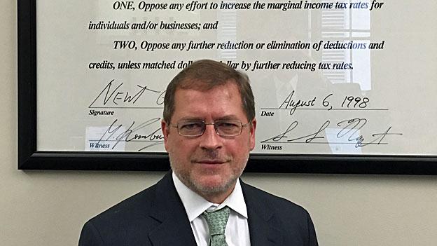 «Divided we stand» – Grover Norquist, fiskalkonservativer Kämpfer
