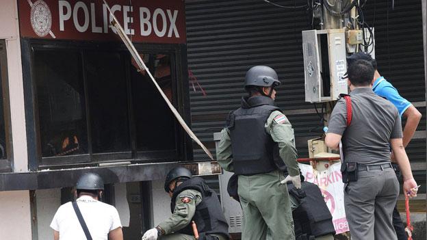 Anschlagsserie in Thailand