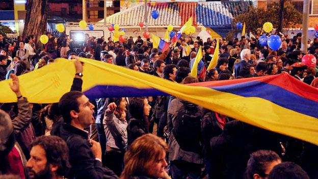 Kolumbien: Nicht alle trauen dem Friedensvertrag