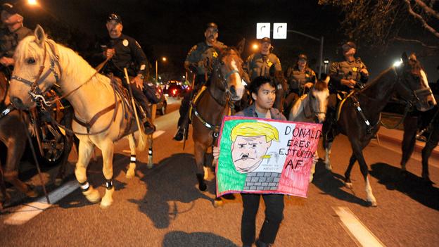 Trump vergrault Latinos