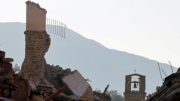 Italien diskutiert Erdbebenprävention