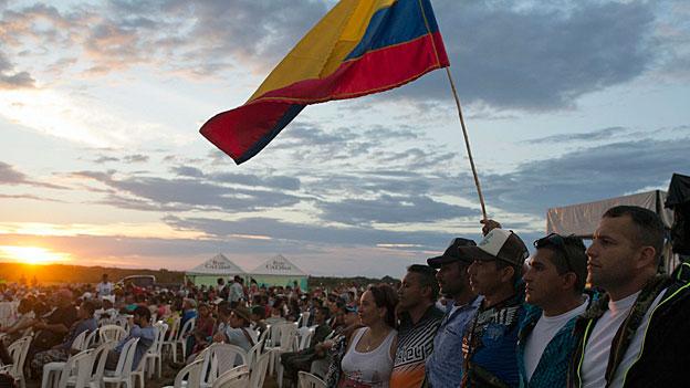 Frieden in Kolumbien – nicht alle mögen sich freuen