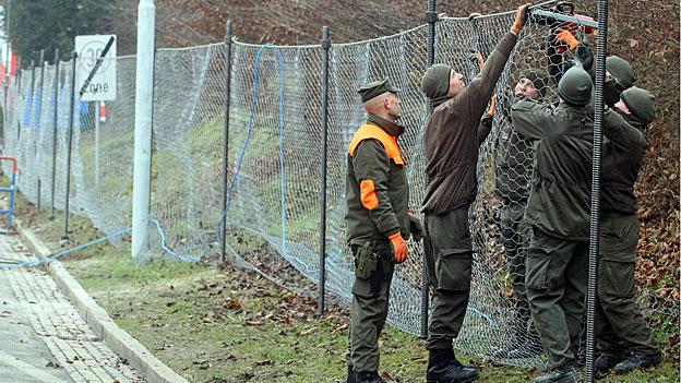 Geplanter Grenzzaun sorgt für Widerstand