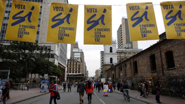 Kolumbien: Unmut vor der Abstimmung zum Friedensabkommen