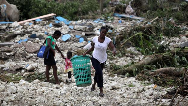Haitis Entwicklung wird um Jahre zurück geworfen