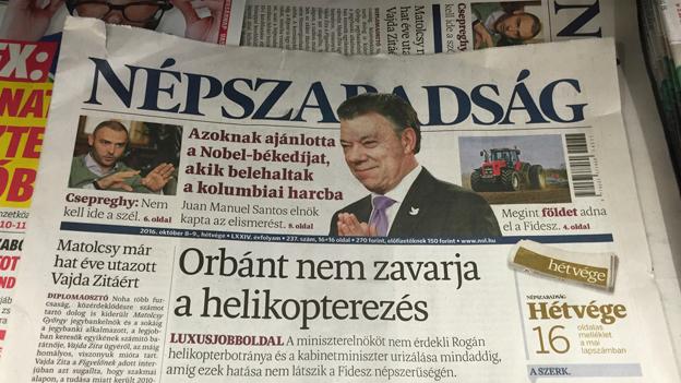 Ungarische Oppositionszeitung Népszabadság dicht gemacht