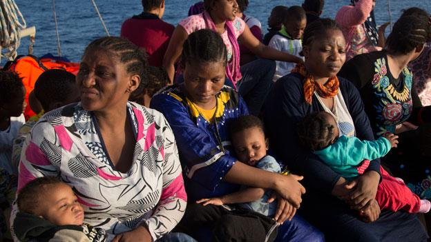 Migrantenströme eindämmen und Rückkehrrate verbessern