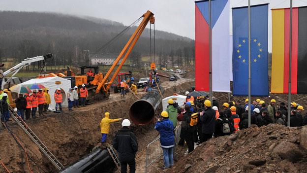 Gazprom wird gestärkt