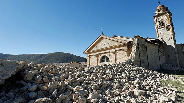 Erdbeben – Italien ist gefordert