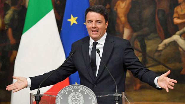 Für Matteo Renzi wird es eng