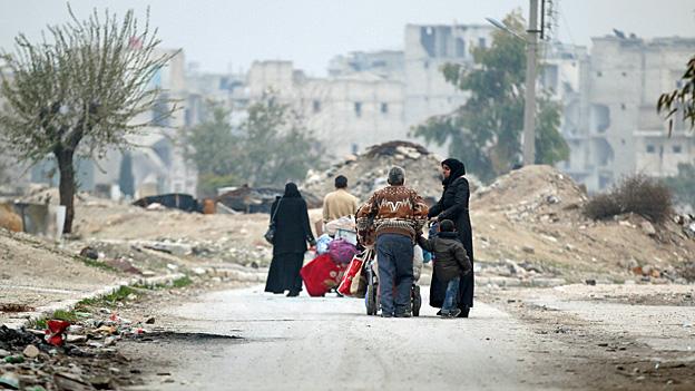 Aleppo – syrisch-russische Grossoffensive verspricht Erfolg